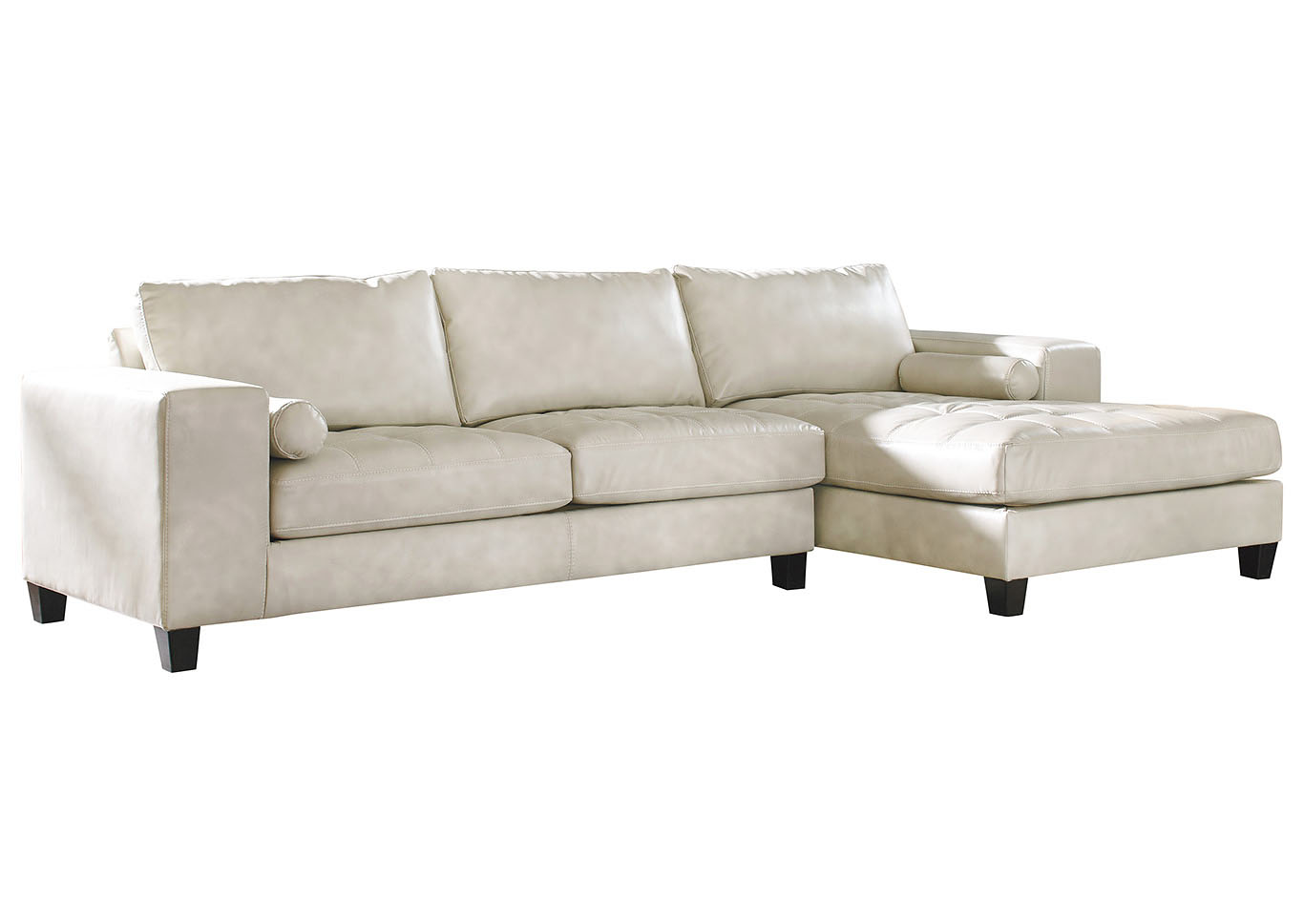 Beau Nokomis Arctic Left Facing Sofa Corner Chaise Sectional,Signature Design By  Ashley