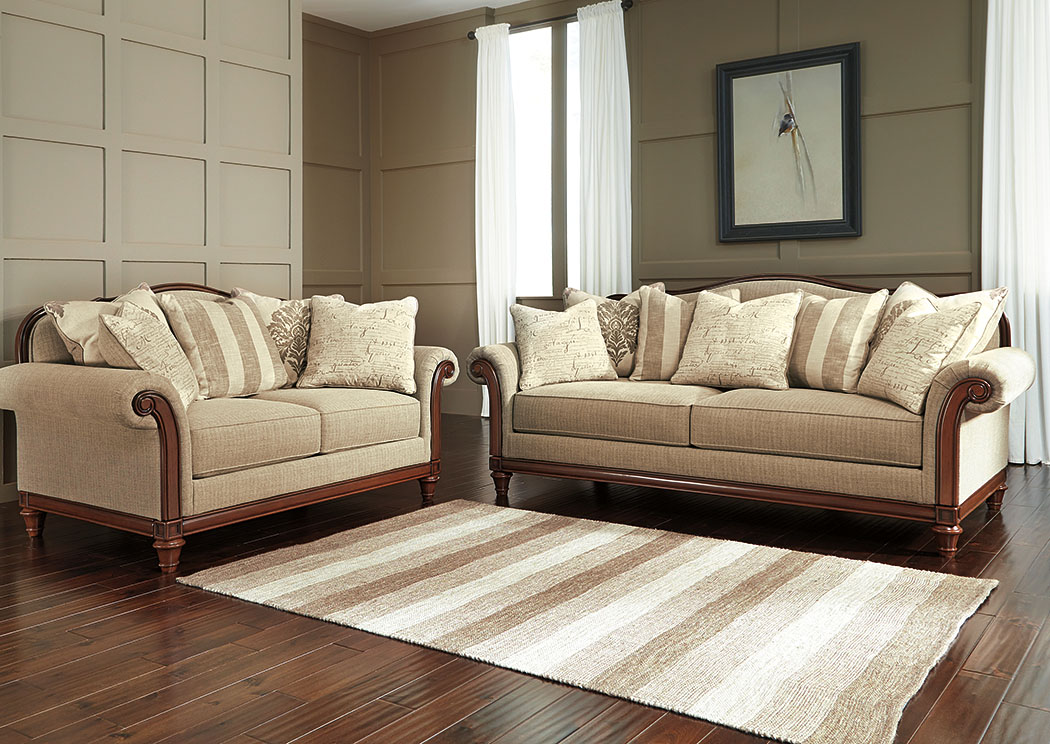 Berwyn View Quartz Sofa and Loveseat,Signature Design By Ashley