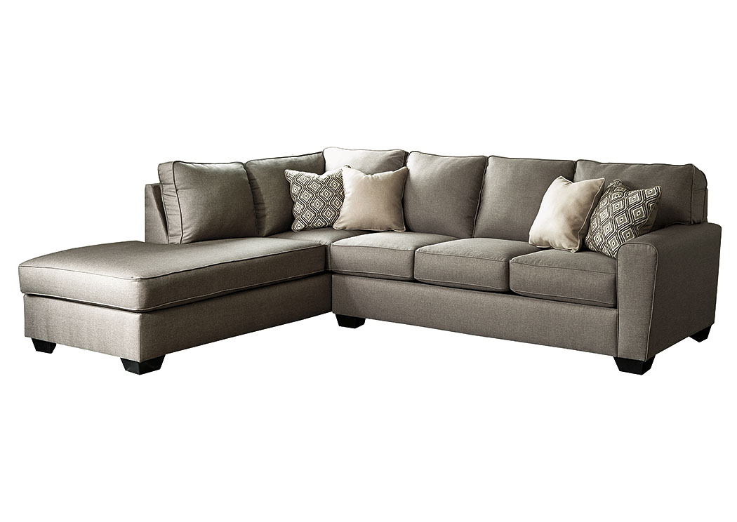 Major Discount Furniture Calicho Cashmere Left Facing Sectional
