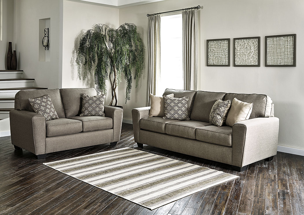 Harlem Furniture Calicho Cashmere Sofa Loveseat