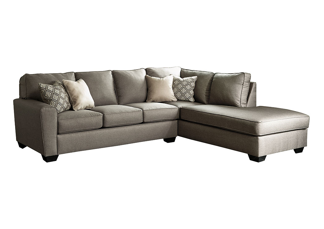 Regal House Furniture Outlet   New Bedford, MA Calicho Cashmere Right  Facing Sectional