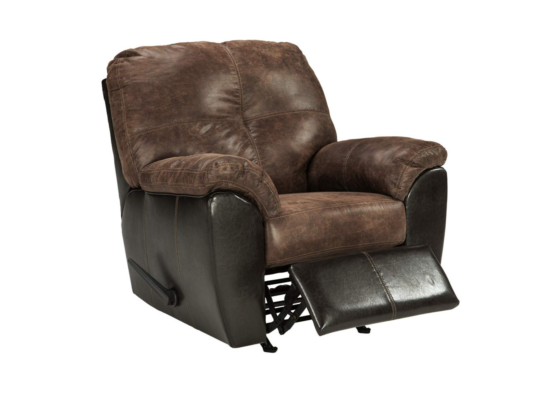 Gregale Coffee Rocker Recliner,Signature Design By Ashley