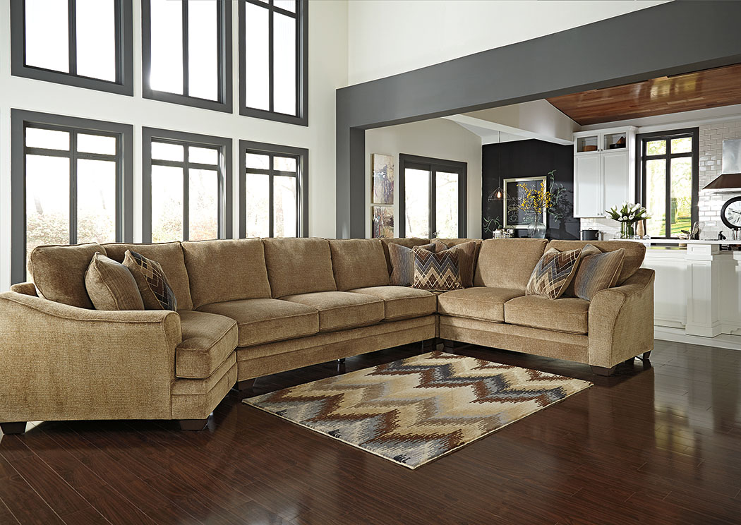Lonsdale Barley Left Arm Facing Cuddler End Extended SectionalBenchcraft : left cuddler sectional - Sectionals, Sofas & Couches