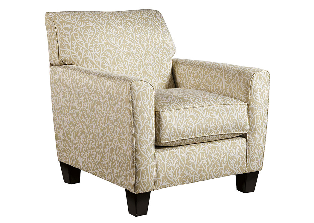 Ayanna Nuvella Sand Accent Chair,Benchcraft