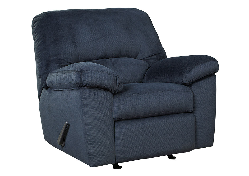Dailey Midnight Rocker Recliner,Signature Design By Ashley