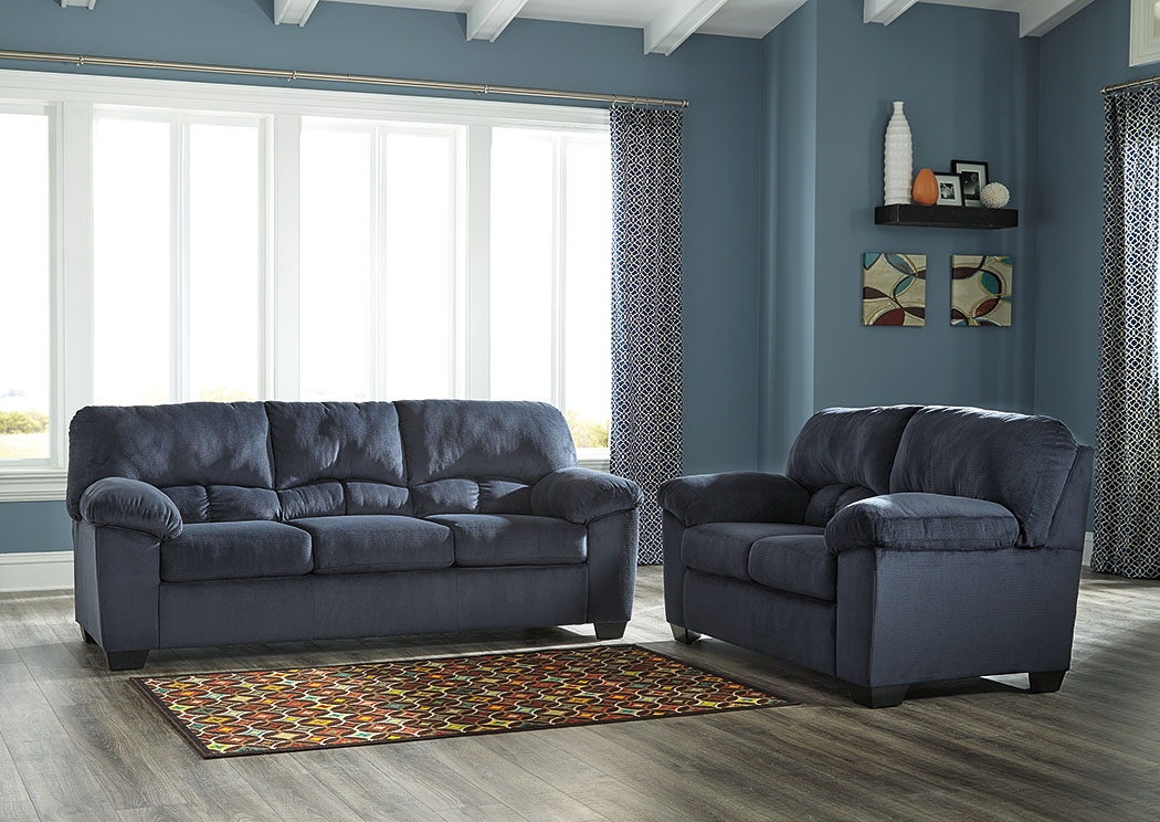 Dailey Midnight Sofa and Loveseat,Signature Design By Ashley