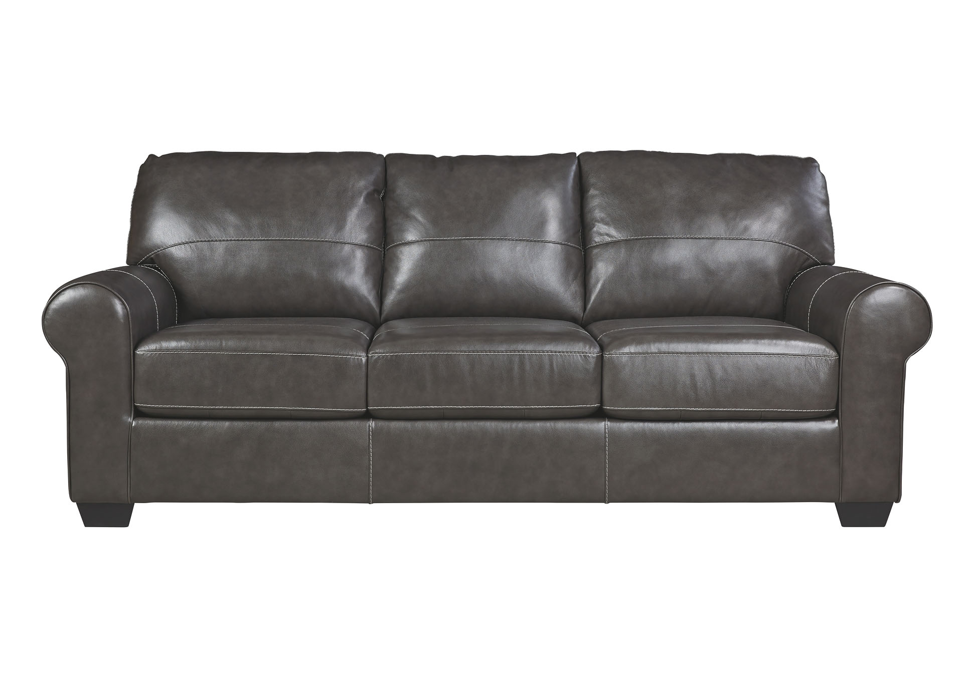 Cozi Furniture New Carrollton Md Canterelli Gunmetal Sofa