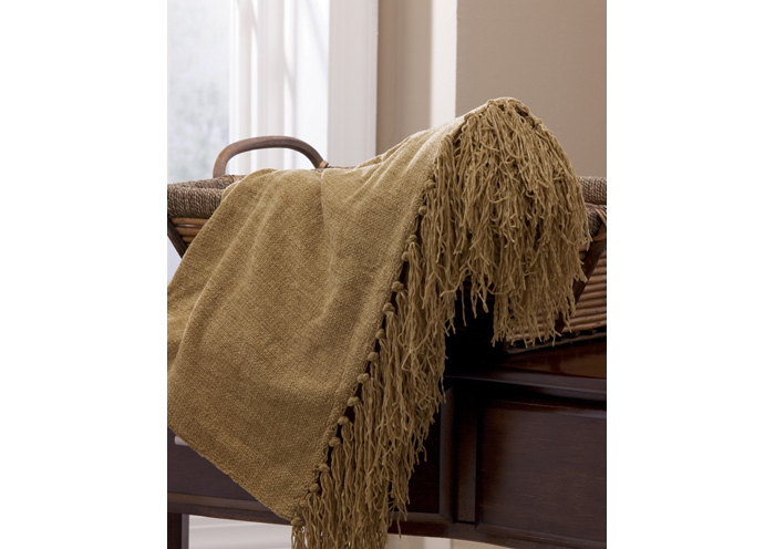 Bronze Revere Throw,ABF Signature Design by Ashley