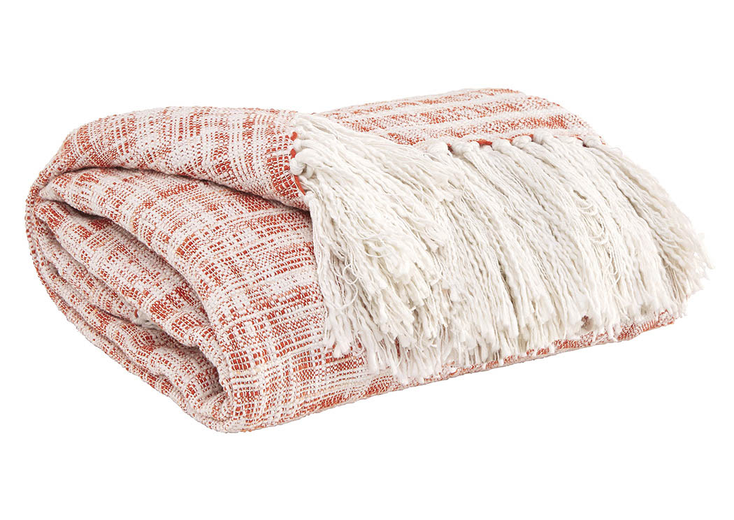 Cassbab Coral Throw,ABF Signature Design by Ashley