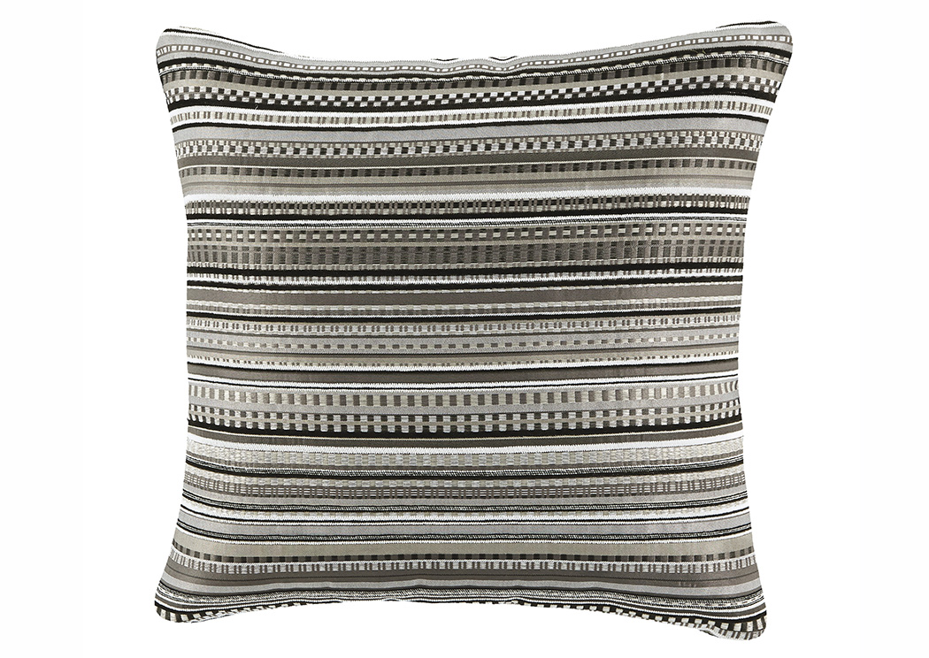 Kaleb Black/White Pillow,ABF Signature Design by Ashley