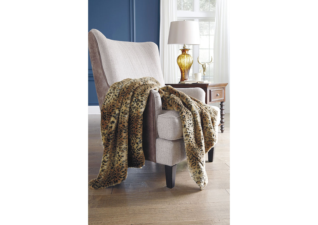 Rolle Brown Throw (3/CS),Signature Design By Ashley