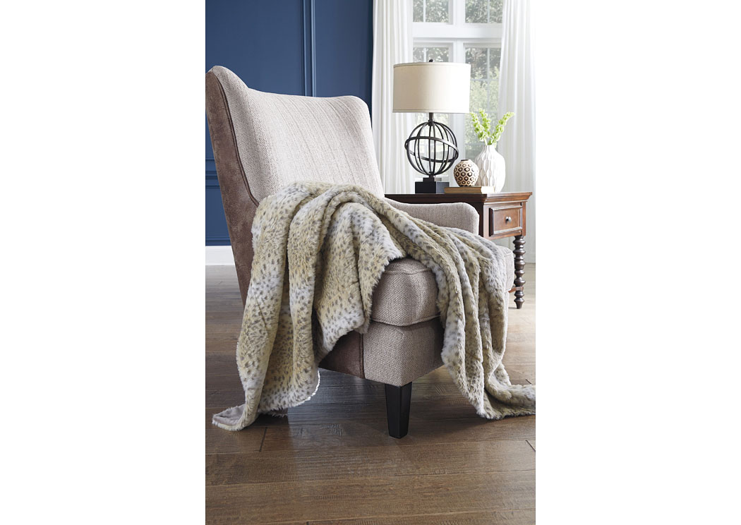 Rolle Tan Throw (3/CS),Signature Design By Ashley