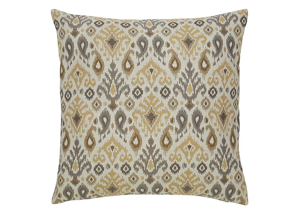 Damarion Taupe/Gold/Tan Pillow (4/CS),Signature Design By Ashley