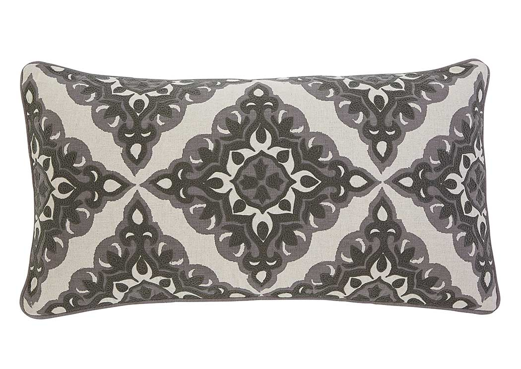 Geometric Gray Pillow,Signature Design By Ashley
