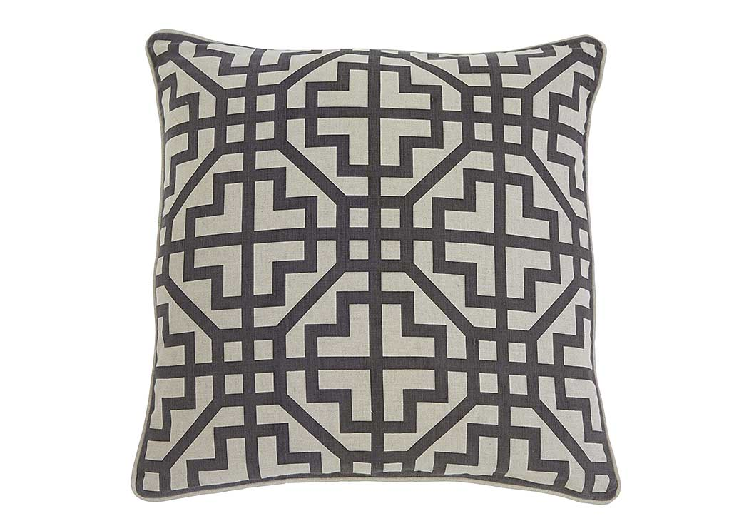 Geometric Charcoal Pillow,Signature Design by Ashley