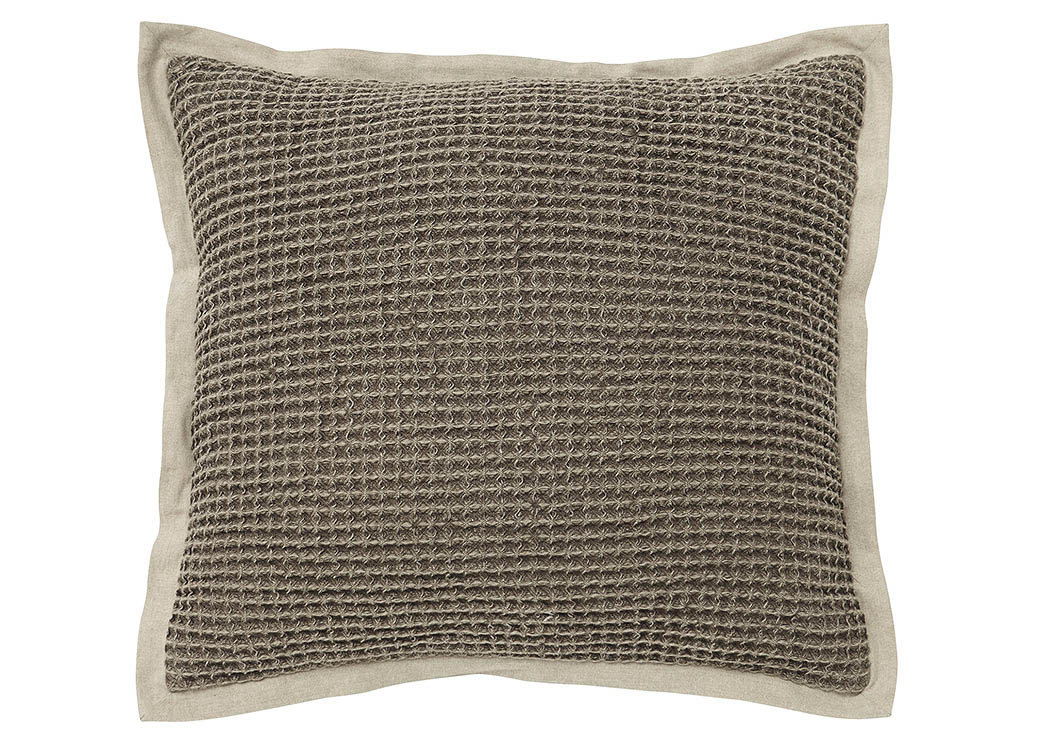 Lovely Wrexyville Brown Pillow,Signature Design By Ashley
