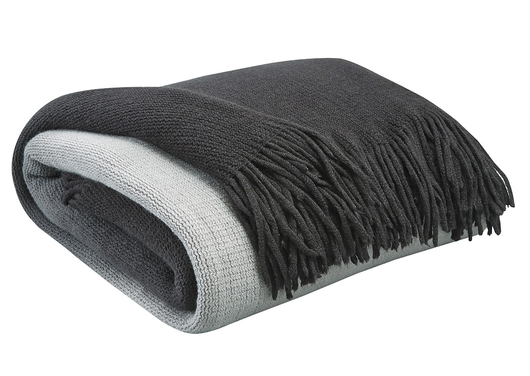 Danyl Black/Gray Throw,Signature Design By Ashley