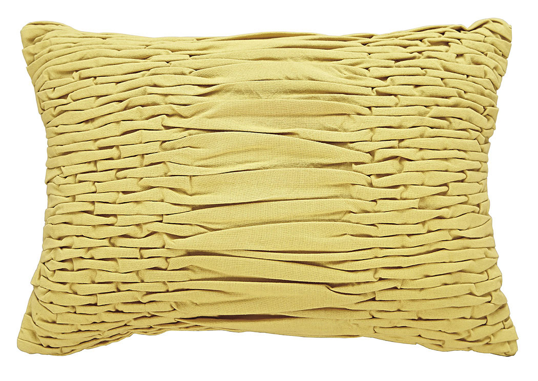 Nellie Yellow Pillow,Signature Design By Ashley