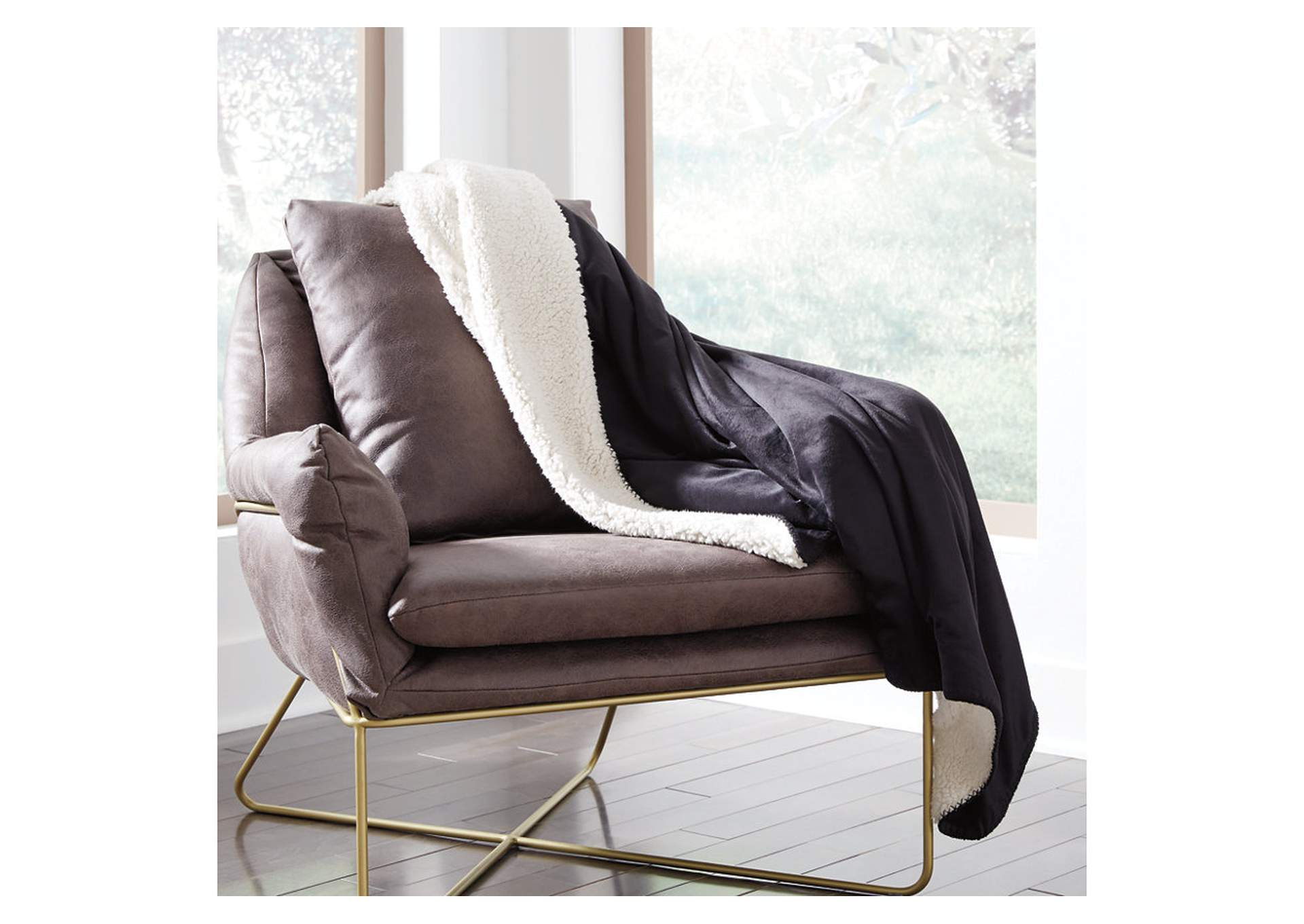 Romeo Black Throw,Signature Design By Ashley