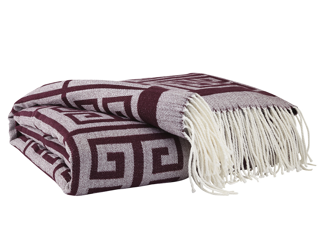 Anitra Plum Throw,Signature Design By Ashley