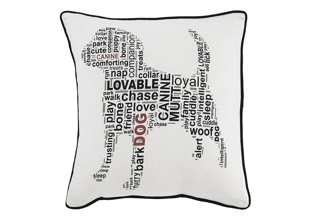 Beals White/Black Pillow,ABF Signature Design by Ashley