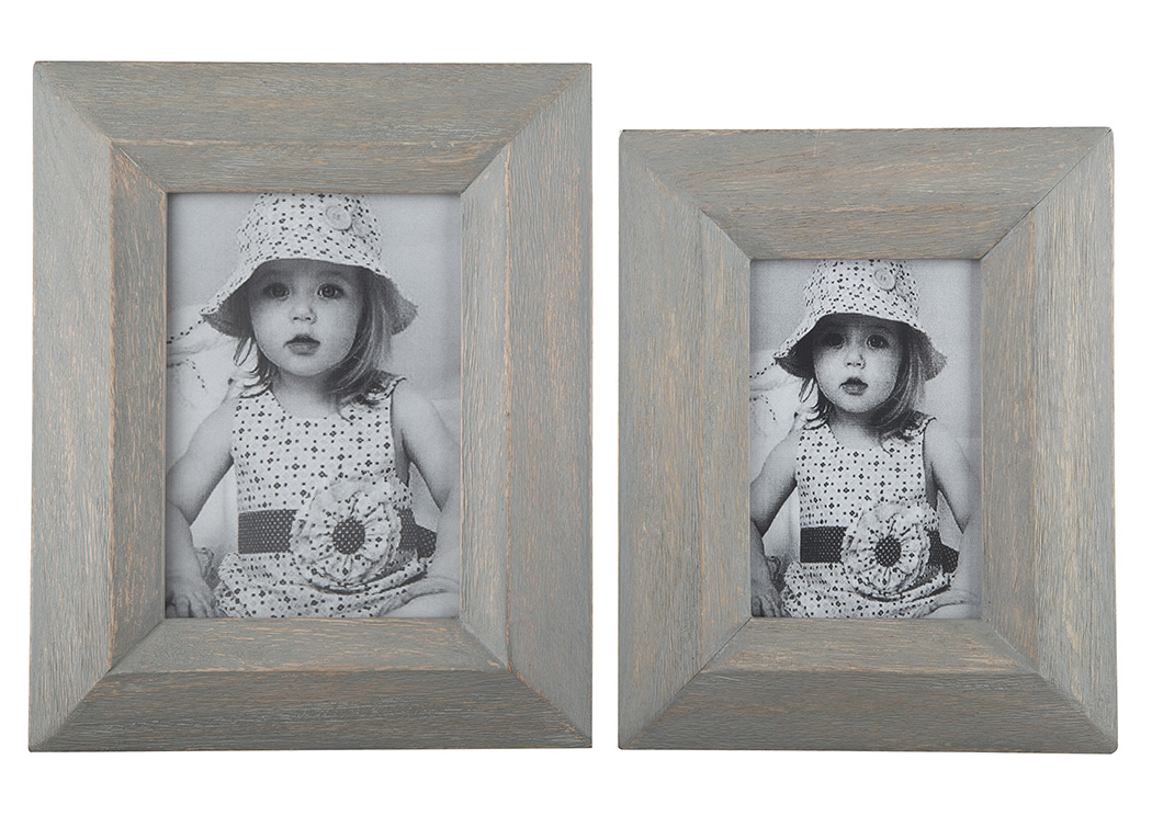 Cadewyn Gray Photo Frame (Set of 2),Signature Design By Ashley