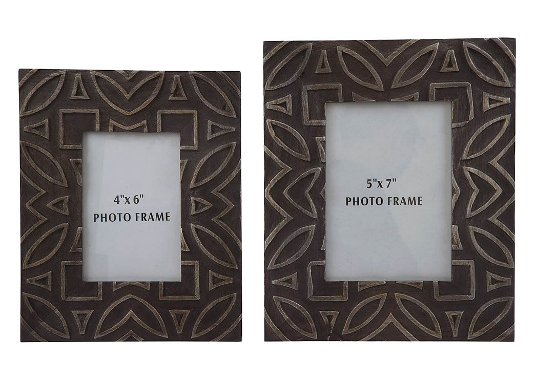 Marquise Antique Black Photo Frame (Set of 2),ABF Signature Design by Ashley
