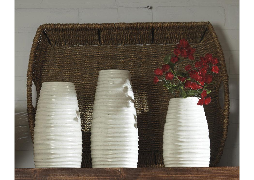 Carpet Corner Chicago Il Kaemon White Vase Set Of 3 2cs
