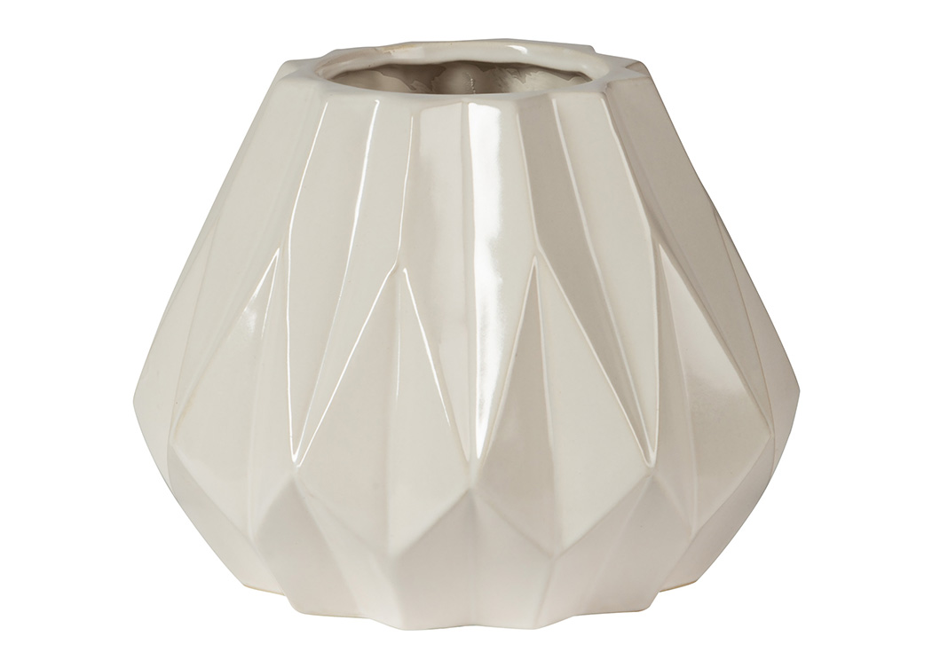 Diego White Vase,ABF Signature Design by Ashley