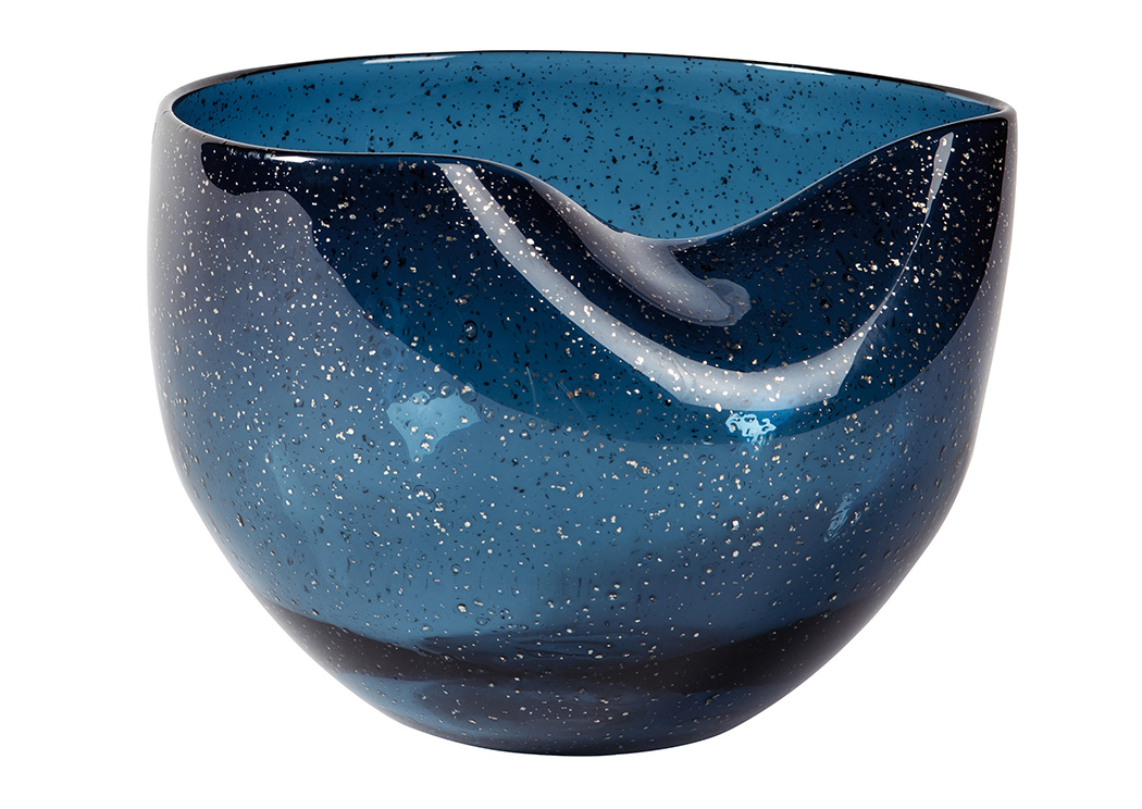 Didrika Blue Bowl,Signature Design By Ashley