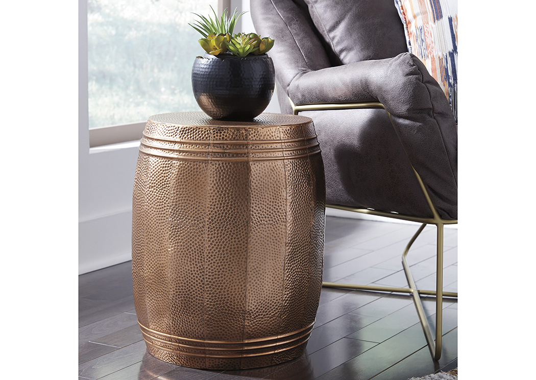 Elazer Copper Stool,Signature Design By Ashley