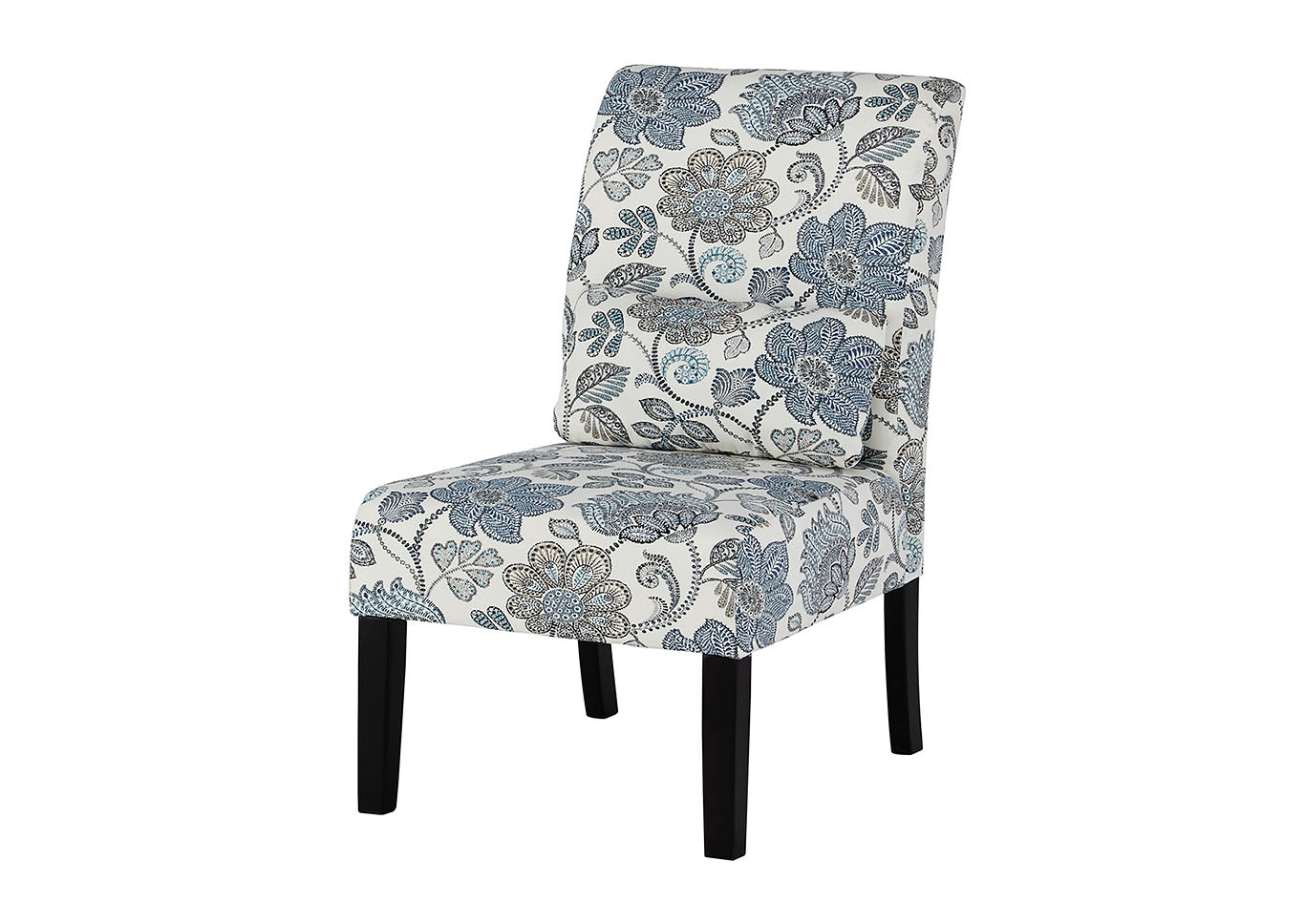 Affordable Furniture - Houston Sesto Denim Accent Chair