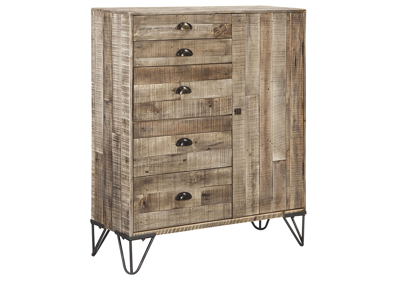 Camp Ridge Light Brown Accent Cabinet,Signature Design By Ashley