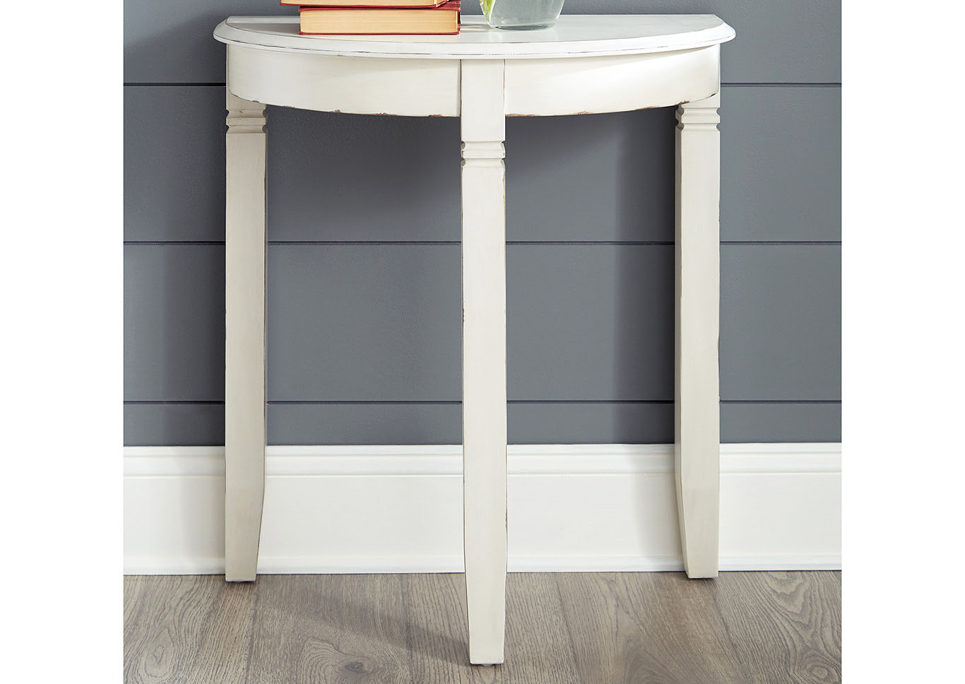 Birchatta White Console Table,Signature Design By Ashley