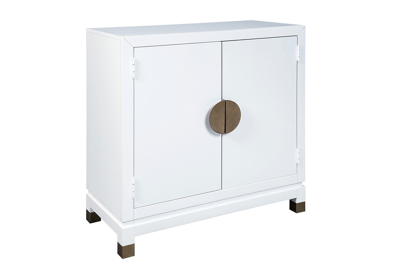 Walentin White Accent Cabinet,Signature Design By Ashley