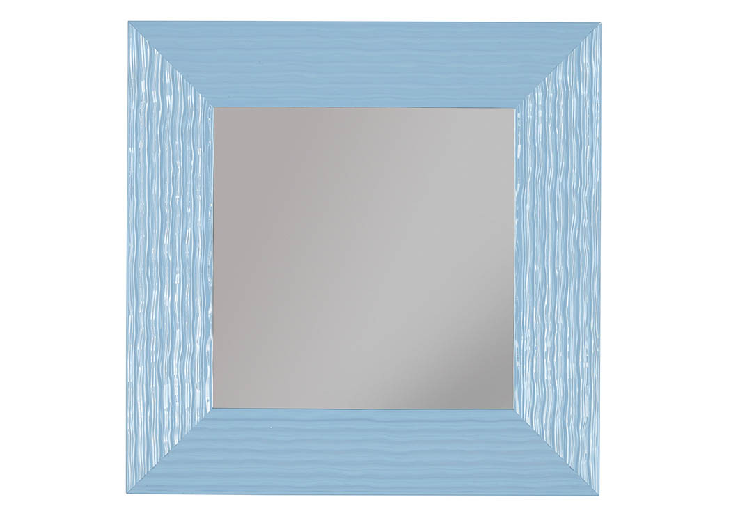 Odelyn Aqua Accent Mirror,Signature Design By Ashley