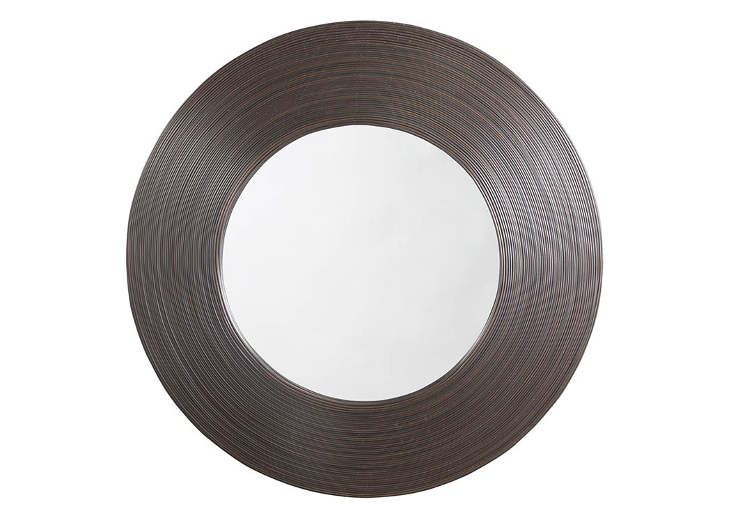 Odeletta Brown Accent Mirror,Signature Design By Ashley