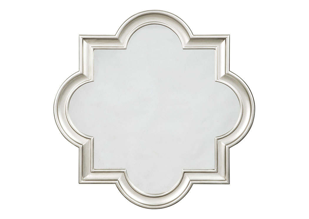 Desma Gold Accent Mirror,Signature Design By Ashley