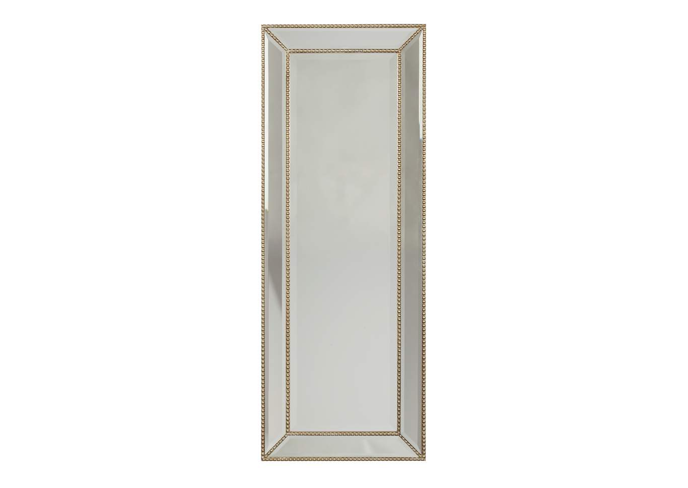 Dhavala Silver/Black Accent Mirror,Signature Design By Ashley