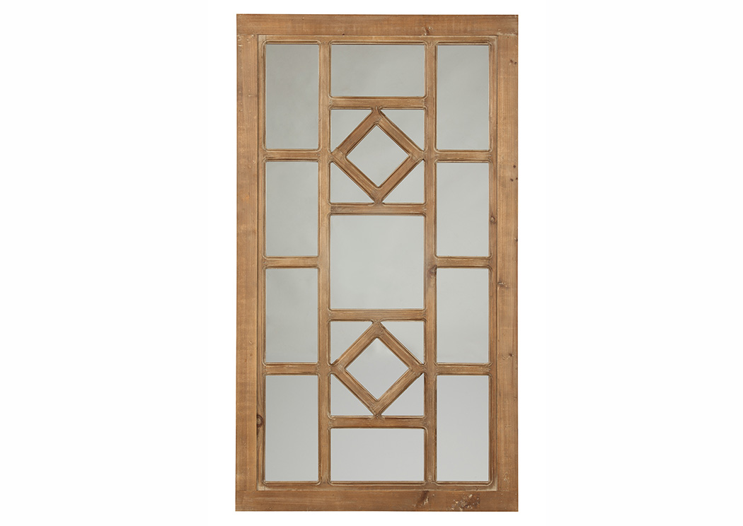 Dreama Natural Accent Mirror,Signature Design By Ashley