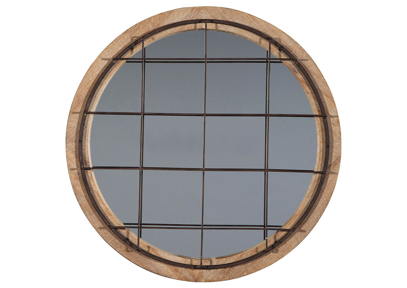Bailee Antique Gold Finish Accent Mirror,Signature Design By Ashley