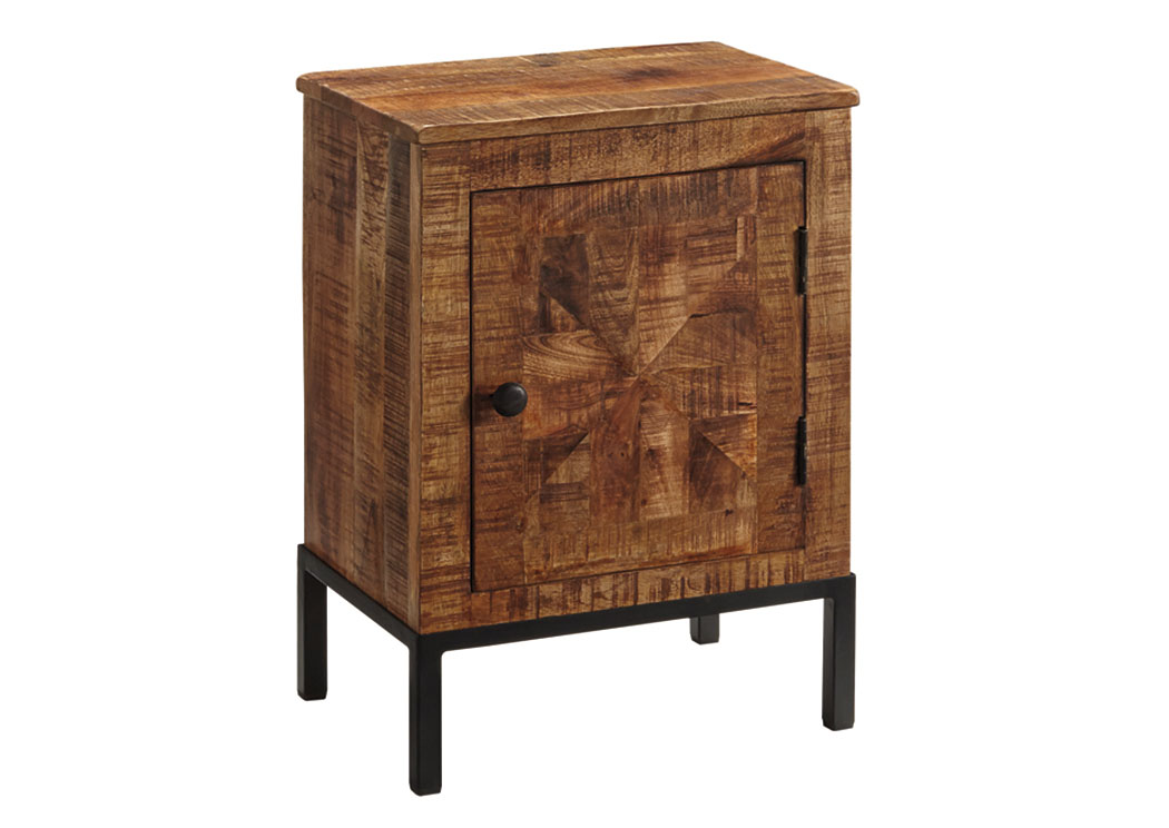 Foothills Family Furniture Charlowe Multi Door Nightstand