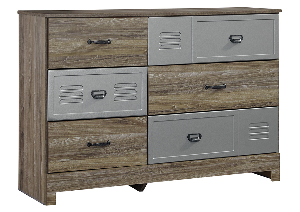 McKeeth Gray Dresser,Signature Design By Ashley