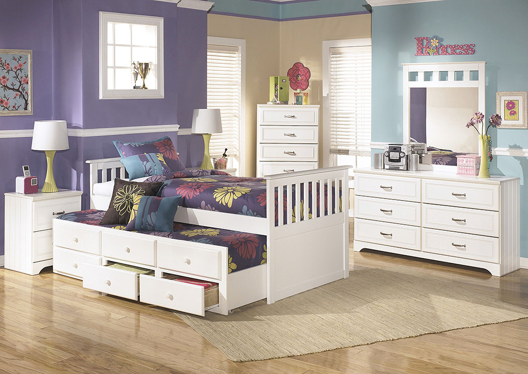 Lulu Twin Trundle Bed,Signature Design By Ashley