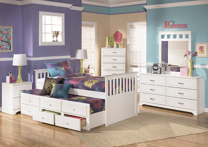 Lulu Twin Trundle Bed,ABF Signature Design by Ashley