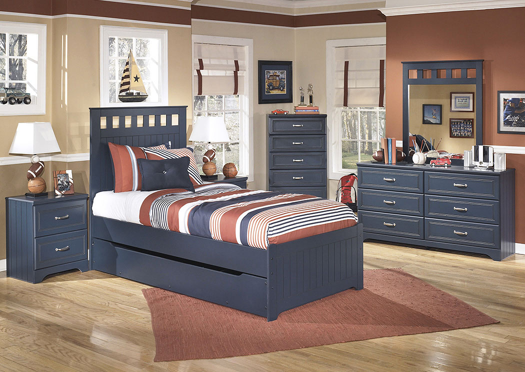 Leo Twin Panel Storage Bed,Signature Design By Ashley