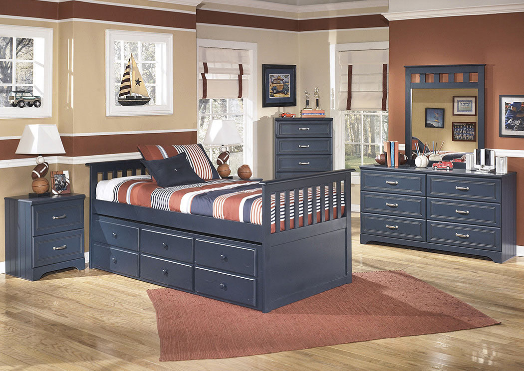 Leo Twin Trundle Bed,Signature Design By Ashley