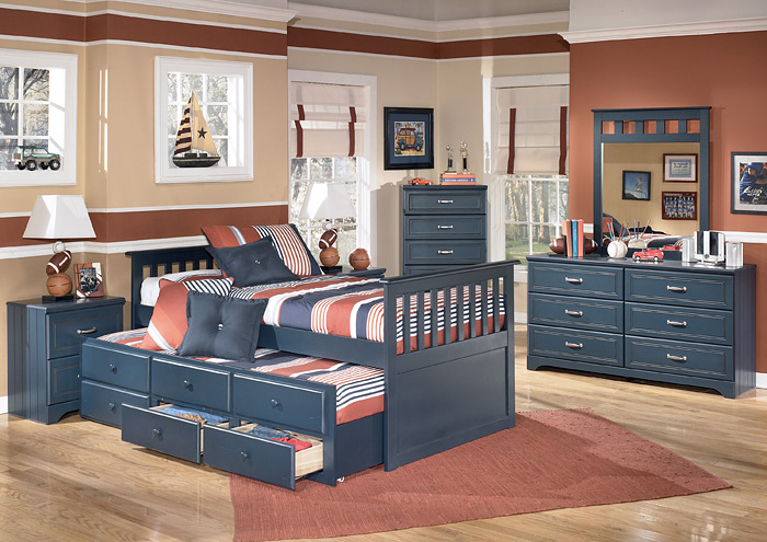 Leo Twin Trundle Bed,ABF Signature Design by Ashley