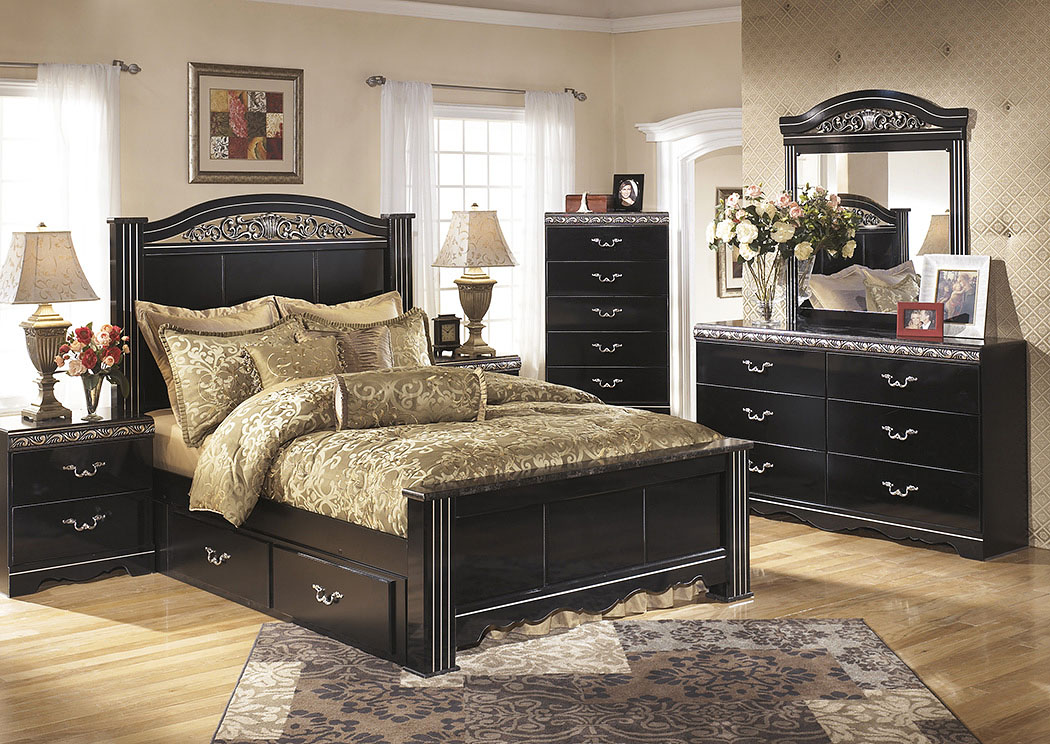 Constellations Queen Poster Bed,Signature Design By Ashley