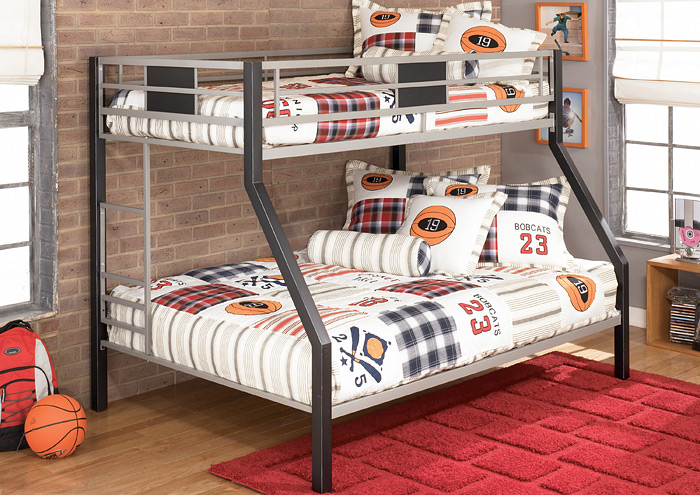 Dinsmore Twin/Full Bunk Bed w/Ladder,Signature Design By Ashley